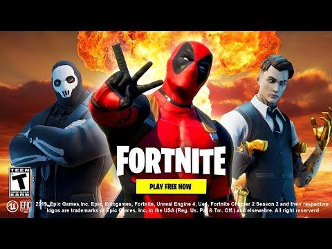 Fortnite Deadpool Trailer (NEW)