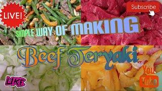 A Simple Way Oḟ Making Beef Teriyaki
