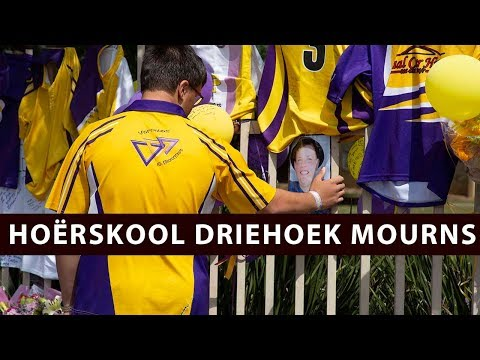 """He was so amazing"" Hoërskool Driehoek remembers classmates"