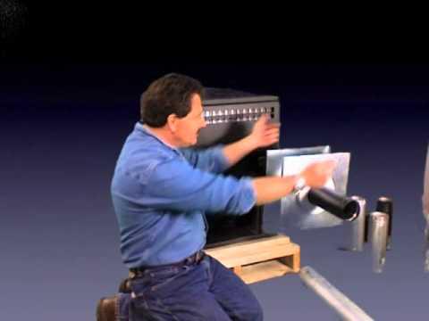 Pellet kit install demonstration