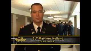 Officer Candidate School graduation