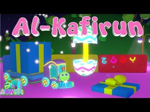 Murottal Juz Amma Al Kafirun Animation 3D Learning Letters Arabic Alphabet   Abata
