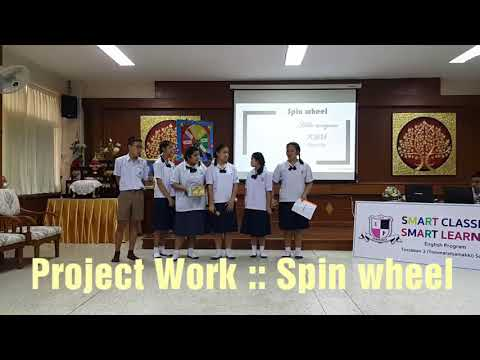 Students Project Work : Spin Wheel