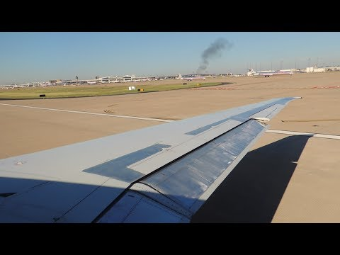 American Airlines McDonnell Douglas MD-83 [N963TW] takeoff from DFW