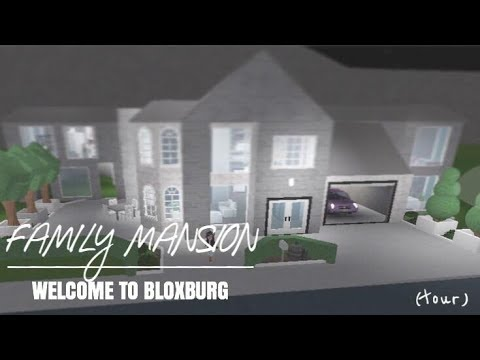 Welcome To Bloxburg Family Mansion Youtube