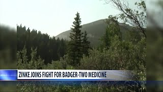 Zinke joins fight for Badger-Two Medicine