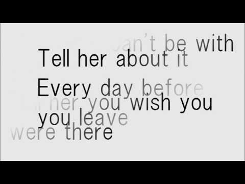 Billy Joel Tell Her About It lyrics