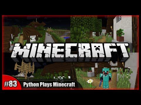 Python Plays Minecraft    Residential District! Path Blocks!    Minecraft Survival PC (15w32c) [#83]