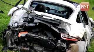 Man killed in Porsche crash