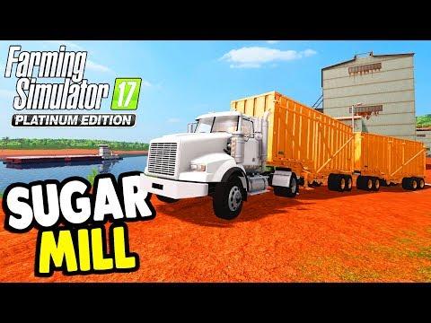 Farming Simulator 17: PLATINUM EDITION | SUGAR HARVEST & OVERSIZED CARGO Gameplay