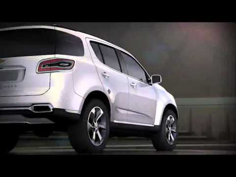 All-New 2013 Chevrolet TrailBlazer unveils