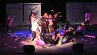 "Cosband ""Domestic Fucker Family"": Dir en Gray cosplay @J-Rock Convent 2010"
