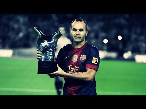 Andres Iniesta ● The Greatest Of All ● El Ilusionista thumbnail