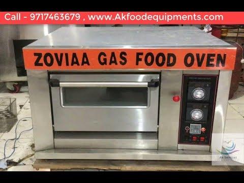 Single Deck Gas Pizza Oven Price in Delhi   India