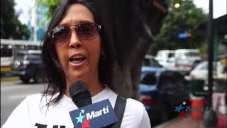 Venezolanos aplauden sanciones de EEUU a funcionarios chavistas