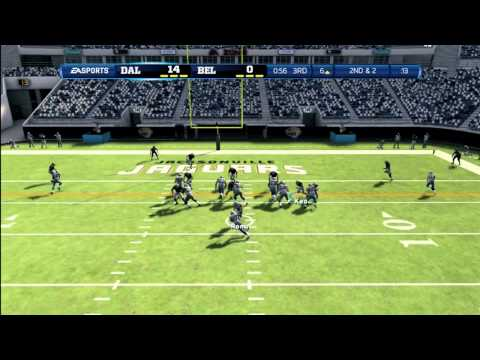 Madden 13: Ultimate Team Ep. 2 Beltz Army vs Cowboys