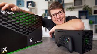 XBOX Series X: Unboxing, Größenvergleich & erster Eindruck!