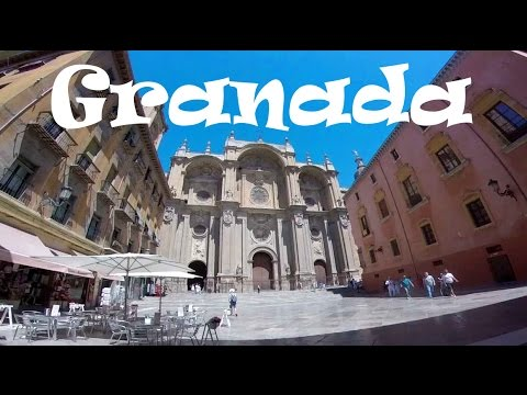 A Tour of GRANADA, SPAIN: Amazing Architecture, Gardens & Plazas
