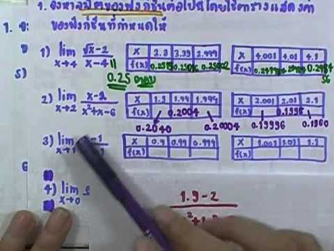 เลขกระทรวง เพิ่มเติม ม.4-6 เล่ม6 : แบบฝึกหัด2.1ก ข้อ01