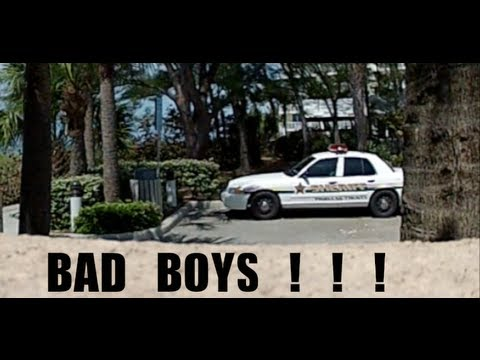 BEST INVISIBLE ROPE PRANK EVER! Attempted on a COP. ANGRY GUY