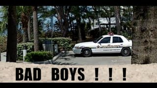 best invisible rope prank ever attempted on a cop angry guy