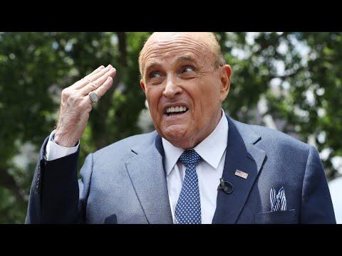Report: Rudy Giuliani Is Close to Broke, Prepared to Go to Prison