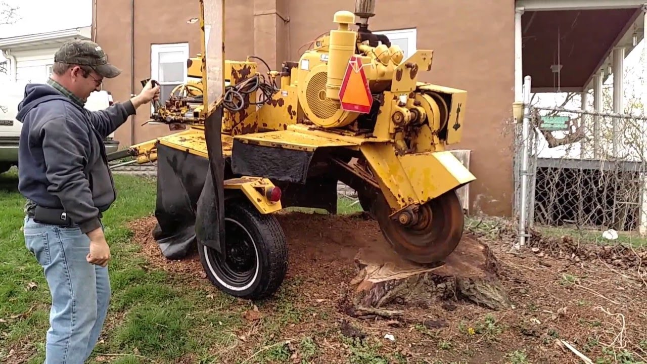Vermeer 665 Stump Grinder For Sale Test Operation Video