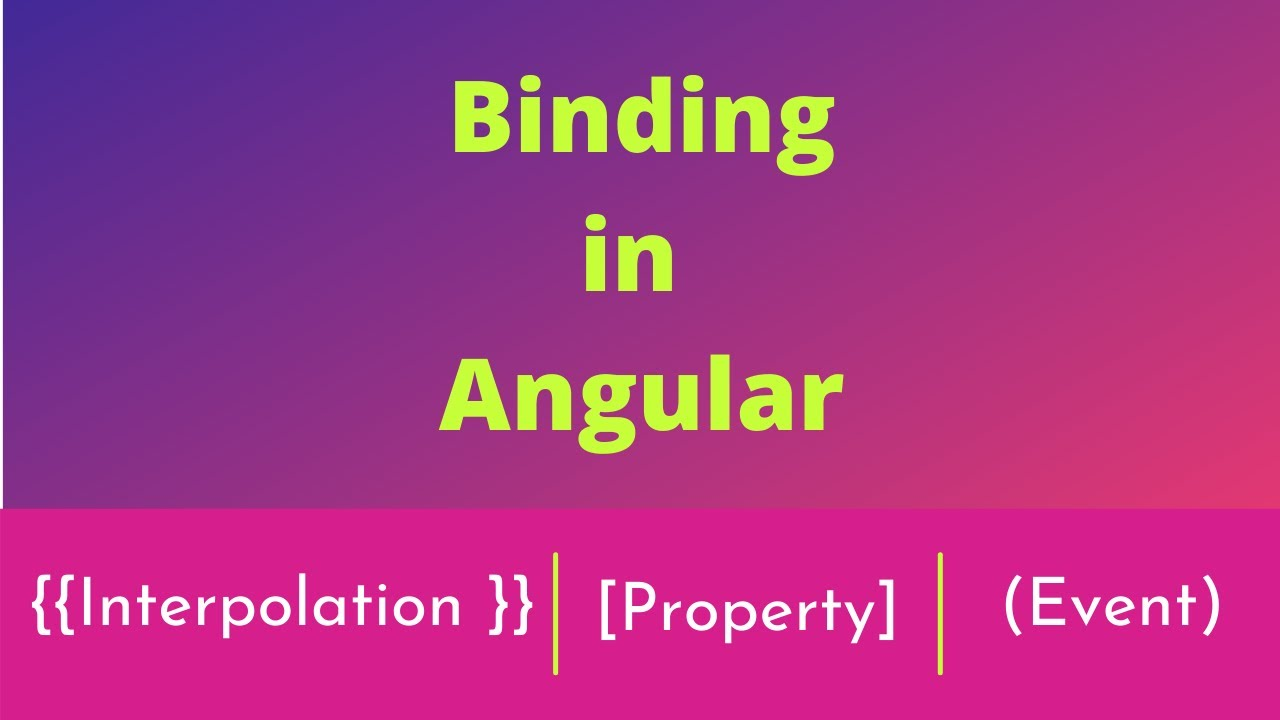 Part# 4:  Binding in Angular 10 | Angular Interview Questions and answers