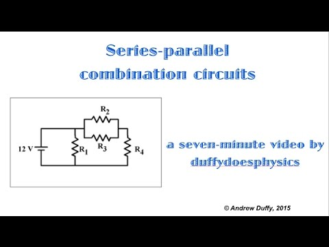 Series-parallel combination circuits - YouTube