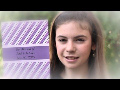 Rikki's Bat Mitzvah - full video - Jerusalem