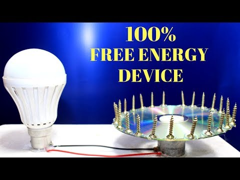 How To Make a Free Energy Device Using Magnet - Free Energy Generator ! Self Running Machine