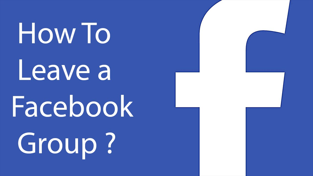 How To Leave a Facebook Group -30 ?