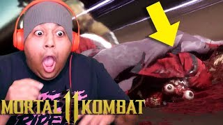 THIS IS THE BEST FINISHING MOVE I'VE SEEN YET!! [MORTAL KOMBAT 11]