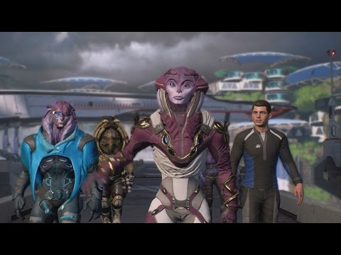 Mass Effect Andromeda - Blind Let's Play Part 45 - Aya