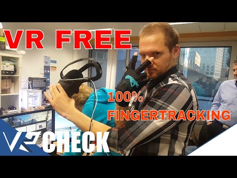 VRFREE - 100% Fingertracking [Hardware Check] [Oculus Rift][HTC Vive][Samsung Gear]