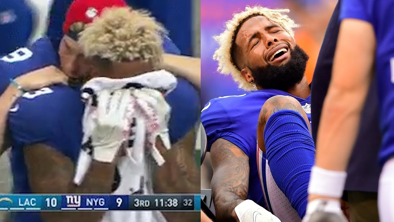 watch-odell-beckham-jr-cries-into-towel-fractures-his-ankle-in-game-against-chargers
