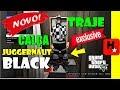 GTA V: GLITCH TRAJE HACKER *CALÇA PRETA JUGGERNAUT* + XADREZ (BLACK JOGGERS JUGGERNAUT) SIN HACKS