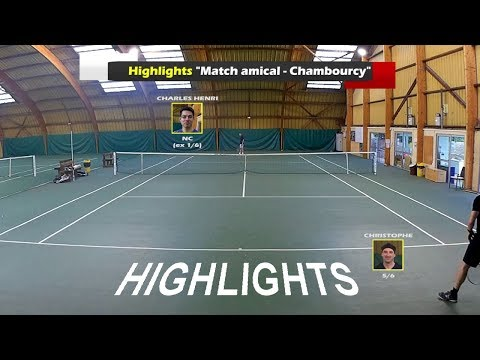 Christophe (5/6) vs Charles Henri (NC ex1/6) - Match amical - Highlights - 03/08/2017