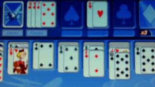 Pogo.com I play First Class Solitaire and I get the worst cards.