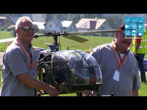 TEAM HELI-FACTORY BO 105 CB, ALOUETTE II, AUGUSTAWESTLAND AW 139 ERA JET WM 2015 LEUTKIRCH