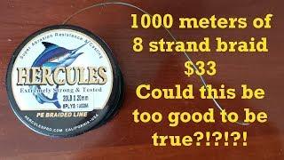 Hercules Braid Test
