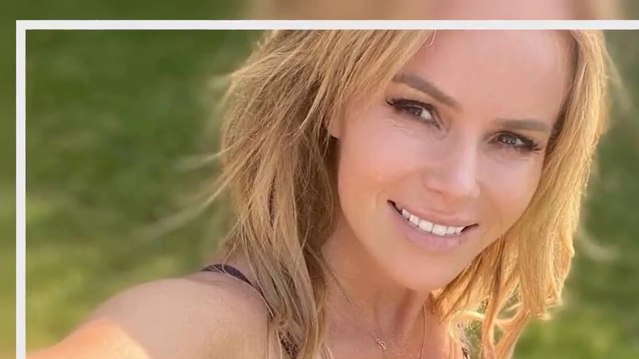 Download Amanda Holden strips 'topless' to lay herself bare in racy sunbathing snap