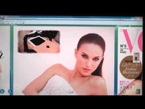 Browsing multimedia Japanese Vogue Girl magazine online