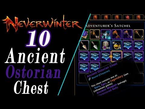 Neverwinter: Opening 10 Ancient Ostorian Chest (FangBreaker Island NOT Worth It?)