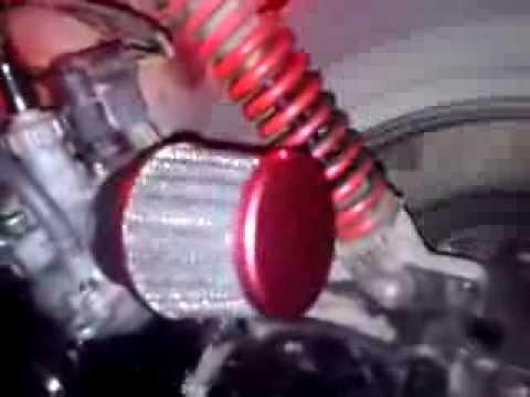 фильтр нулевик на мопед honda dio 27