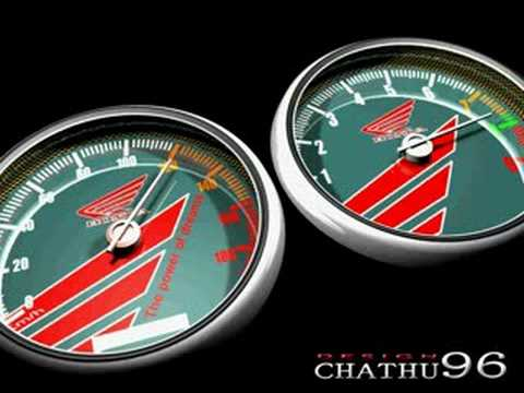 Honda 3-D Animated Speedometer