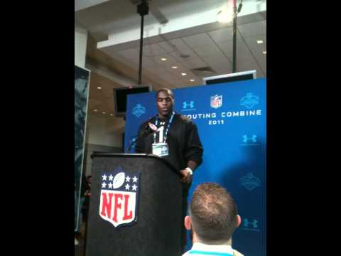 Texas DE Sam Acho talks about Orakpo