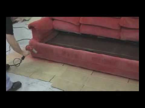 diy paint a sofa with simply spray youtube. Black Bedroom Furniture Sets. Home Design Ideas