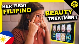 My Girlfriend's FIRST FILIPINO BEAUTY TREATMENT in the Philippines + BIG ANNOUNCEMENTS