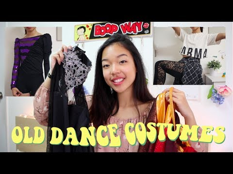 Trying On My Old Dance Costumes!